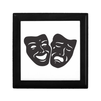 Comedy Tragedy Drama Theatre Masks Gift Box