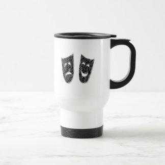 Comedy Tragedy Coffee Mugs