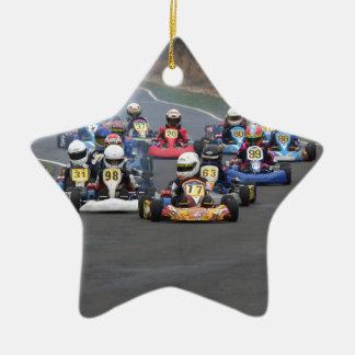 Comer cadet go karting kart race christmas ornament