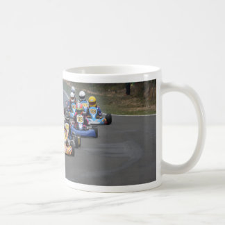 Comer cadet go karting kart race coffee mug