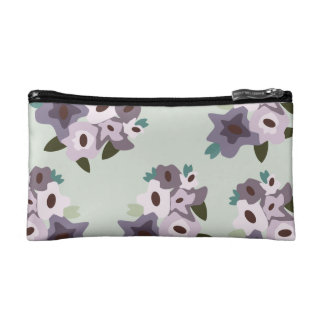 Comestic bag with Flower pattern Makeup Bags