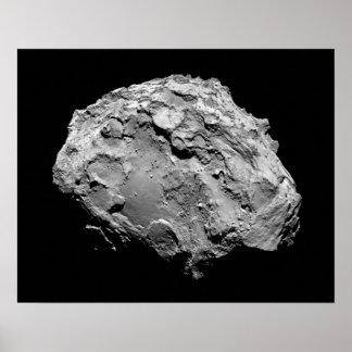 Comet 67P Churyumov–Gerasimenko Rosetta Mission Poster