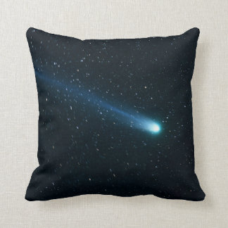 Comet in Night Sky Cushion