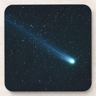 Comet in Night Sky Drink Coasters
