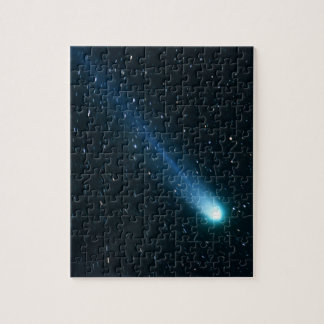 Comet in Night Sky Jigsaw Puzzle