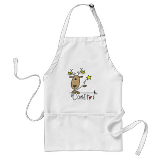 Comet Reindeer Tshirts and Gifts Standard Apron