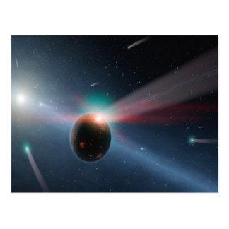 Comet Storm Postcard