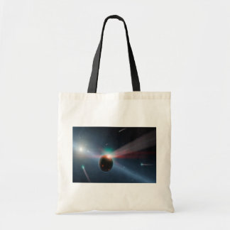 Comet Storm Shopper Canvas Bags