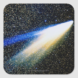 Comet West Square Sticker