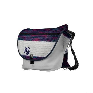 Comfort Chic monogrammed Messenger Bag