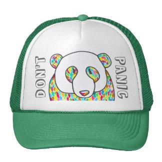 "Comfort Panda ""Don't Panic"" Snapback Hat"