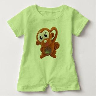 Comfortable Green Baby Romper Baby Bodysuit