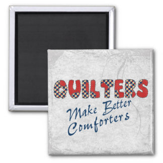 Comforting Quilters Fridge Magnet
