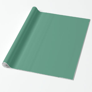 Comfrey Green Soft Light Greens Trend Color Gift Wrapping Paper
