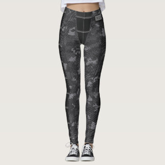 Comfy Camo SciFi Action Gaming Leggings
