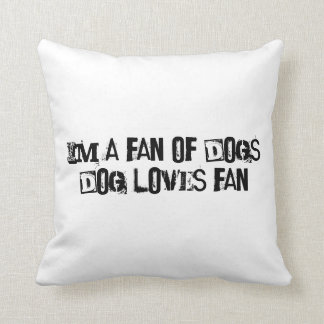 Comfy Dog Lovers Pillow Delight