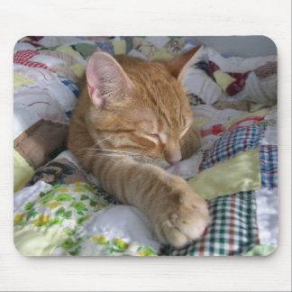 Comfy Quilt Catnap Mousepad