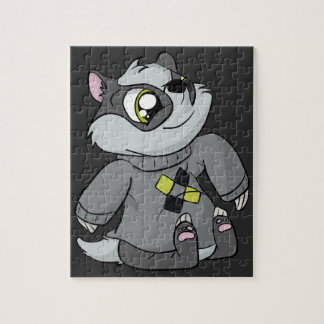 Comfy Sweater Badger! Jigsaw Puzzle