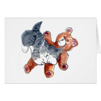 Comfy Teddy Card