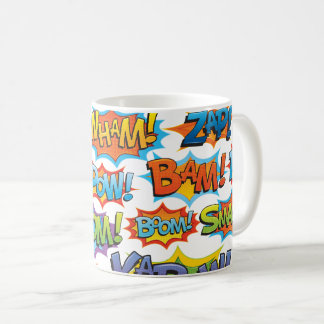 Comic Action Word Coffee Mug