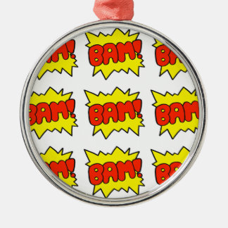 Comic 'Bam!' Christmas Ornament