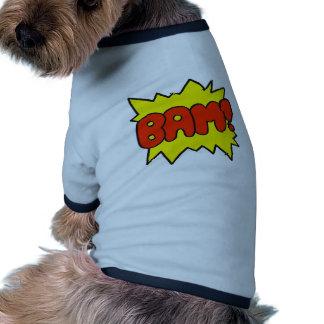 Comic 'Bam!' Pet Tshirt