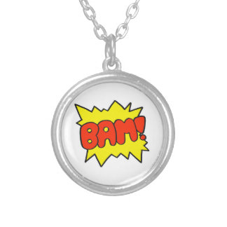 Comic 'Bam!' Personalised Necklace