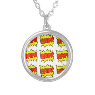 Comic Bam Personalised Necklace