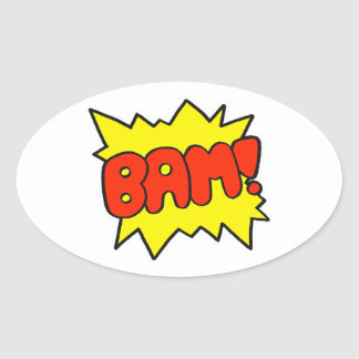 Comic 'Bam!' Stickers