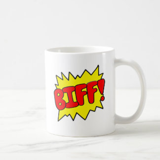 Comic 'Biff!' Coffee Mug