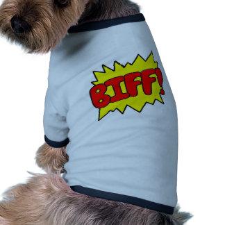 Comic Biff Dog Clothing
