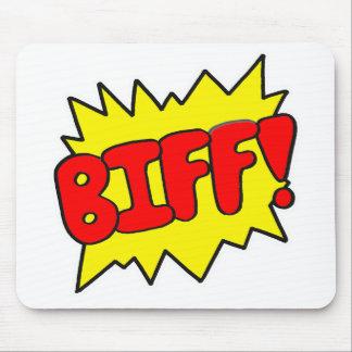 Comic 'Biff!' Mouse Mat