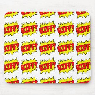 Comic 'Biff!' Mouse Mats