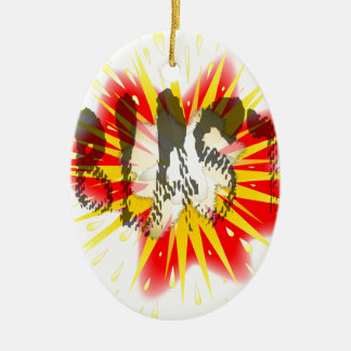 Comic Blast Christmas Ornament