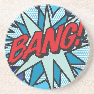 Comic Book BANG! Coaster
