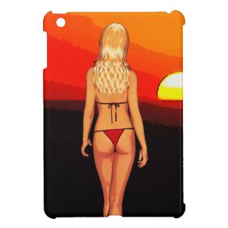 Comic Book Blonde Bikini Babe 2 Case For The iPad Mini