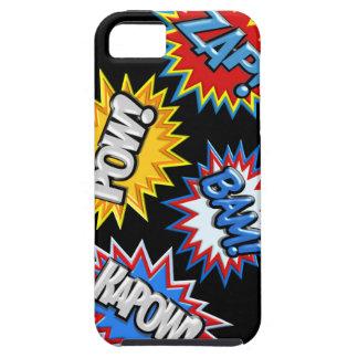 Comic Book Burst Pow 3D iPhone 5/5S Case