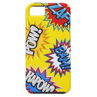 Comic Book Burst Pow 3D iPhone 5 Cover