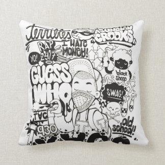 Comic Book Fan Cushion