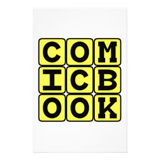 Comic Book, Graphic Novel Custom Stationery