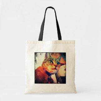 Comic Book Indigo Canvas Bags