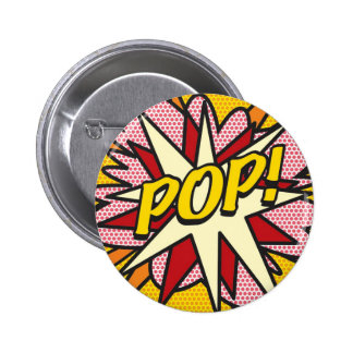 Comic Book POP! 6 Cm Round Badge