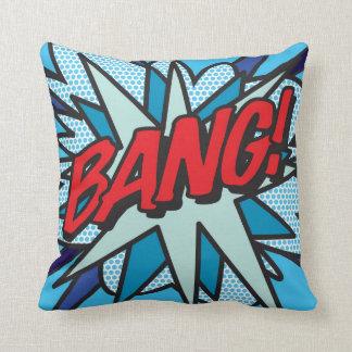 Comic Book Pop Art BANG! KA-POW! Cushion