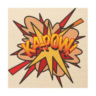 Comic Book Pop Art KA-POW