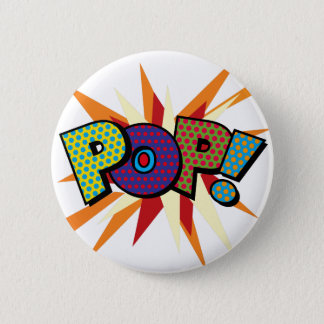 Comic Book Pop Art POP! 6 Cm Round Badge