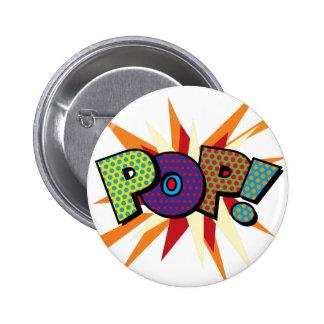 Comic Book Pop Art POP! 6 Cm Round Badge