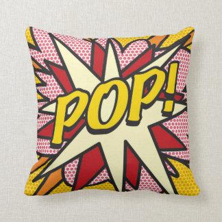 Comic Book Pop Art POP! Cushion