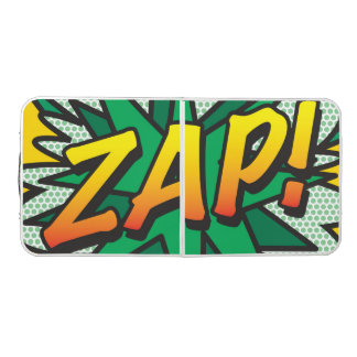Comic Book Pop Art ZAP! Beer Pong Table