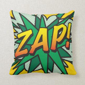 Comic Book Pop Art ZAP! Cushion