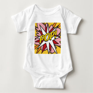 Comic Book POP! Baby Bodysuit